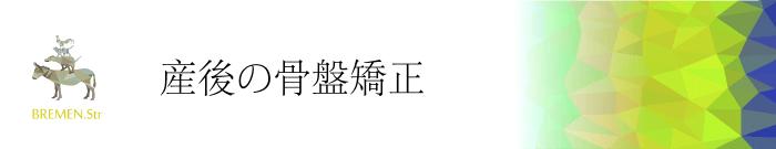 武蔵小杉・元住吉の産後の骨盤矯正